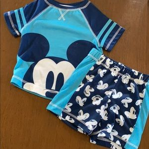 Disney Mickey Mouse pj set size 2T